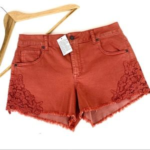 NWT Altar'd State Shorts Orange Size 28 NEW